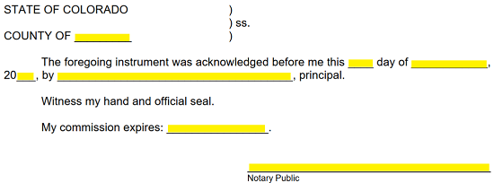 The Next Page Will Contain An Area For Notary Public To Provide Verification Of This Documents Signing By Notarizing It