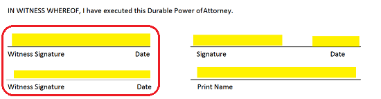 microsoft word power of attorney template