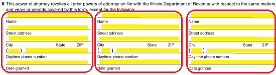 Illinois Tax Power of Attorney (Form IL-2848) | eForms