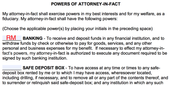 Free Durable Power Of Attorney Form PDF Word EForms Free - Durable power of attorney template