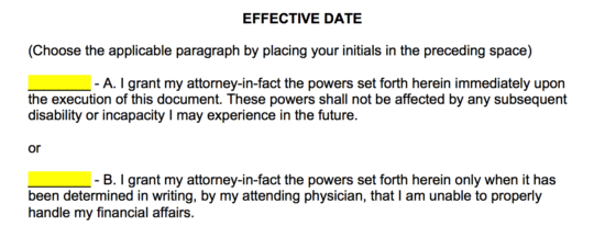 Free Power of Attorney Forms - Word | PDF | eForms – Free