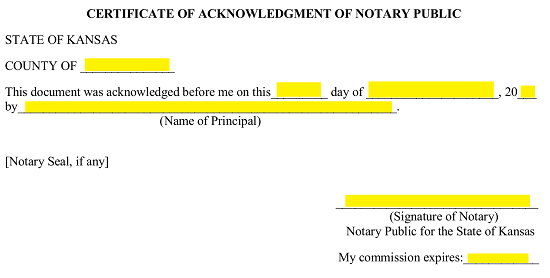next the attorney in fact will need to print and sign his or her name on the appropriate blank lines in the acknowledgment of agent section