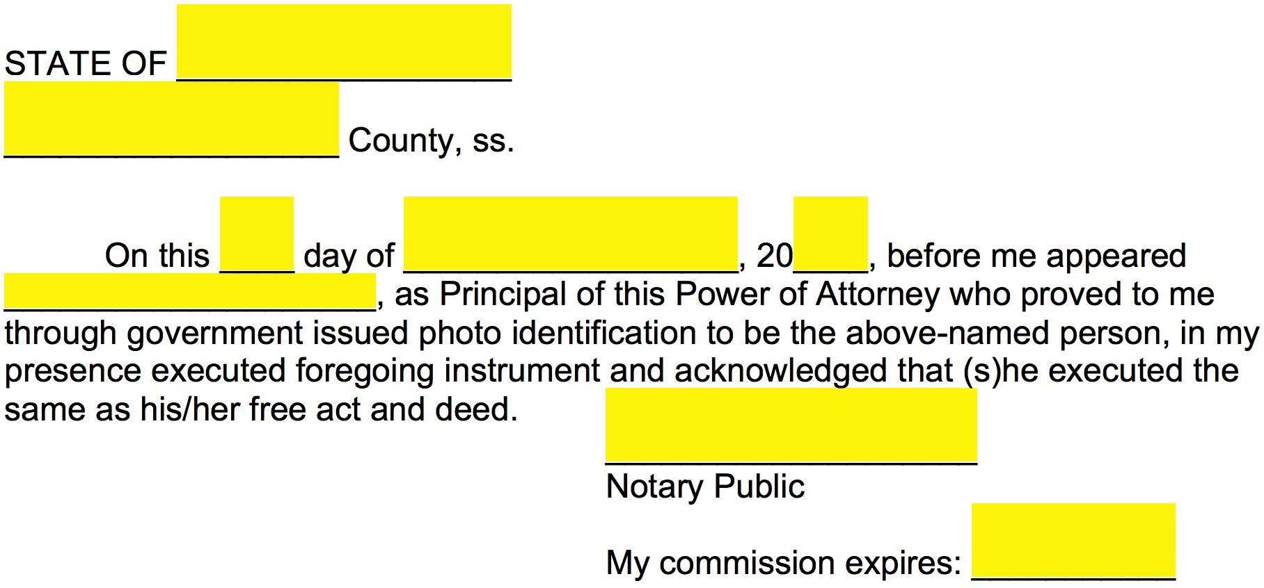 Free Missouri Power of Attorney Forms - Word | PDF ...