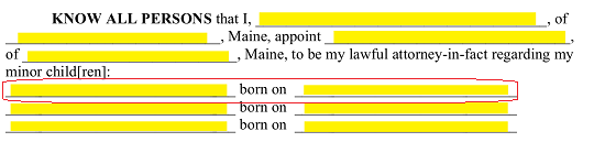laws on dating a minor in maine