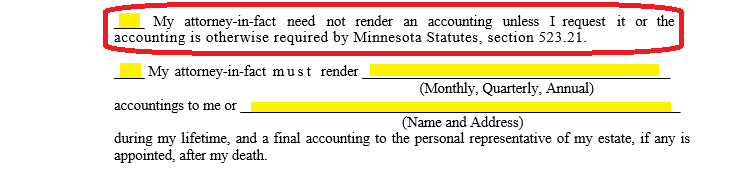 Free Minnesota Durable Financial Power Of Attorney Form Word