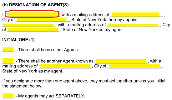 Free New York Power of Attorney Forms - PDF | Word | eForms – Free ...