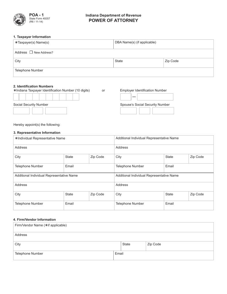 Edward Jones Revenue: Indiana Department Of Revenue Fax Number