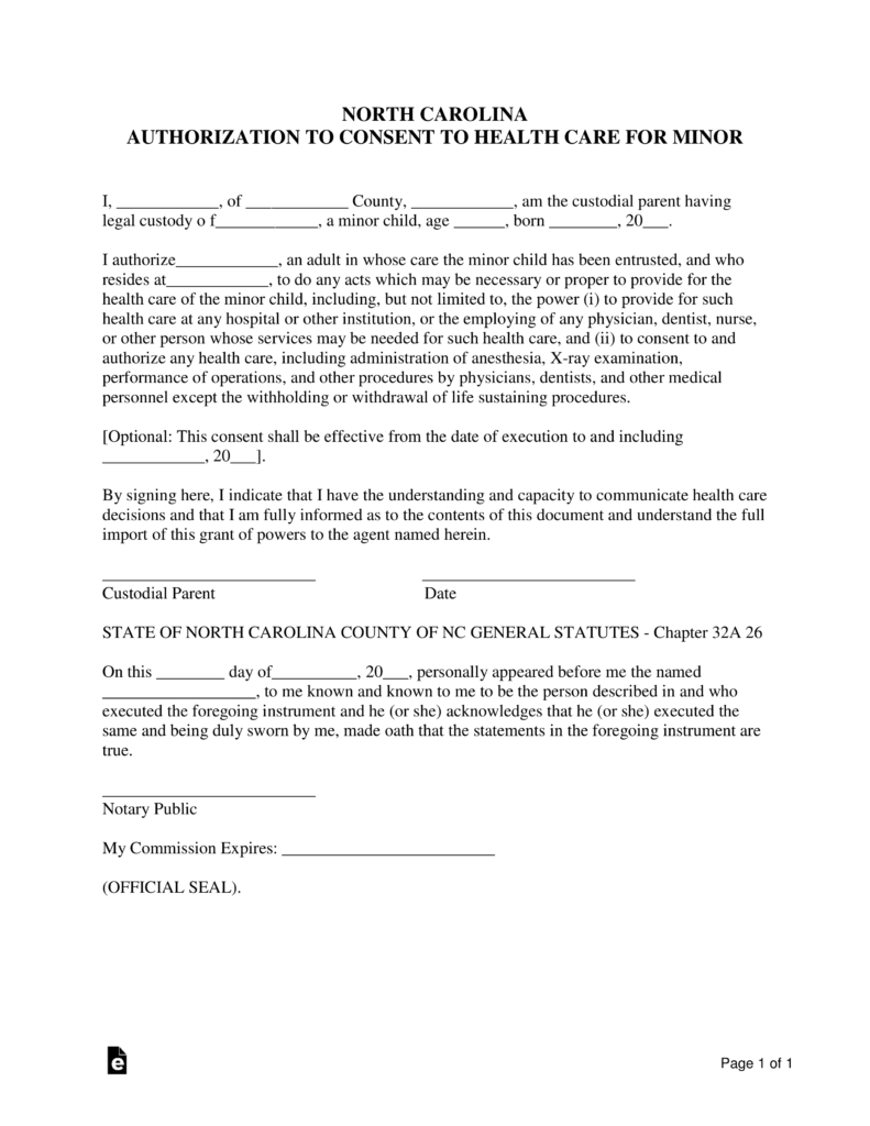 Free north carolina guardian of minor power of attorney form pdf free north carolina guardian of minor power of attorney form pdf word eforms free fillable forms falaconquin