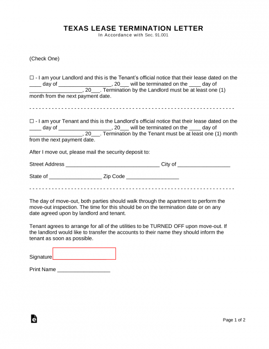 Example Of Eviction Notice Letter To Tenant from eforms.com