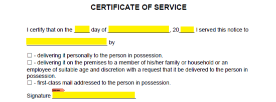 Free Tennessee Eviction Notice Forms | Process and Laws