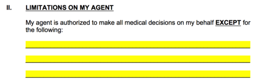 medical-poa-limitations-on-agent