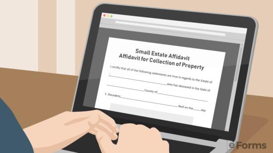 Free Small Estate Affidavit Forms Pdf Word Eforms Free