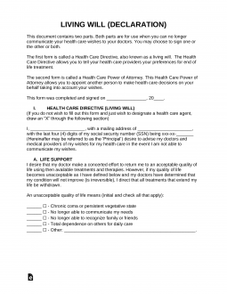 living-will-advance-directive-template