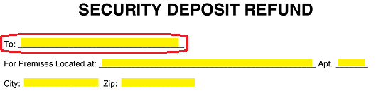 Security Deposit Refund Letter California from eforms.com