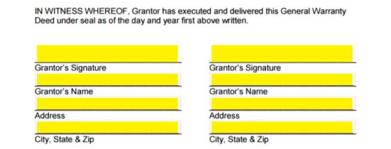 Free California Grant (Warranty) Deed Form - PDF | Word | eForms ...