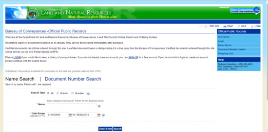 HI title search 3