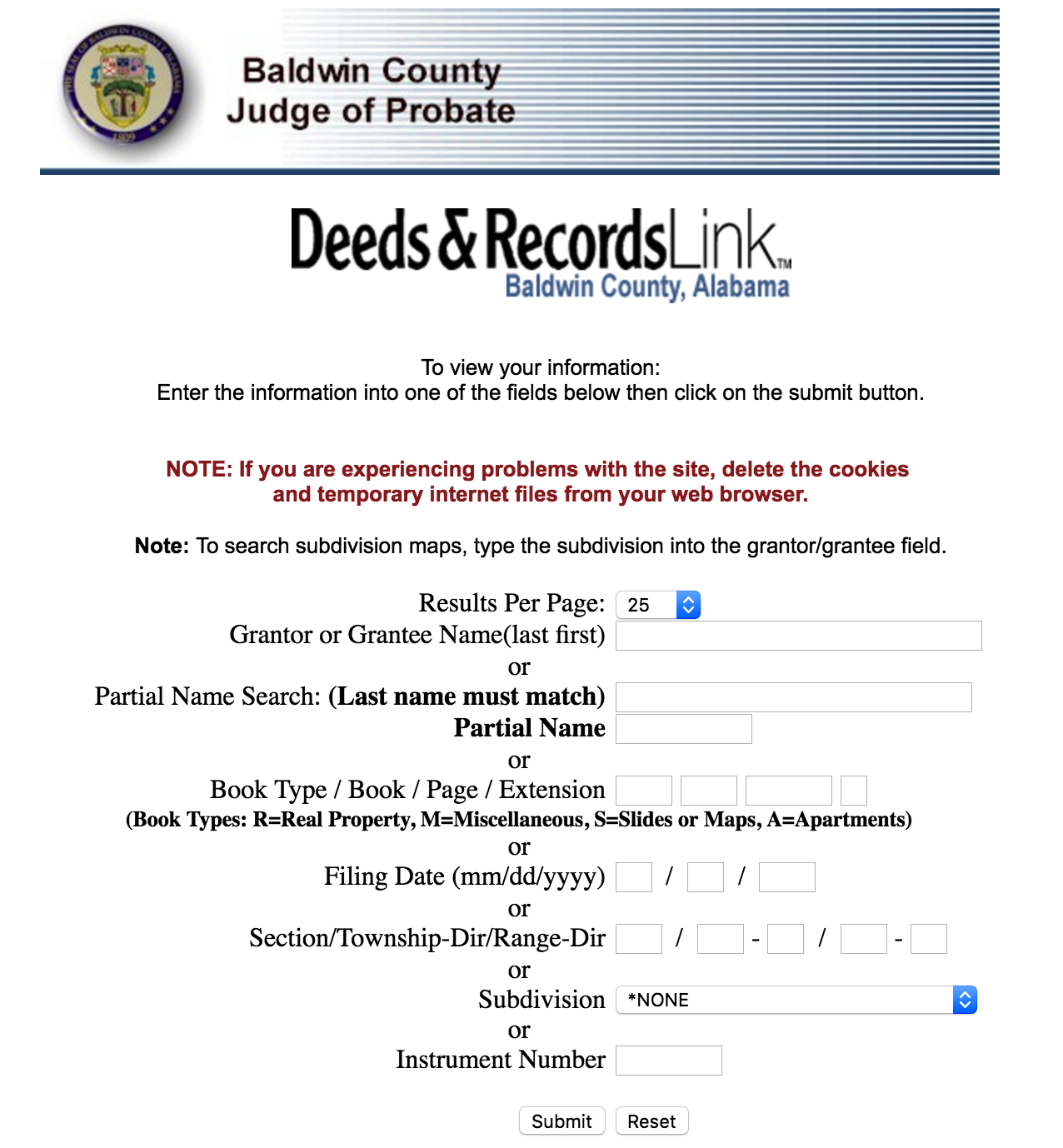 Alabama Deed Forms - Quit Claim, Warranty, and Special Warranty ...