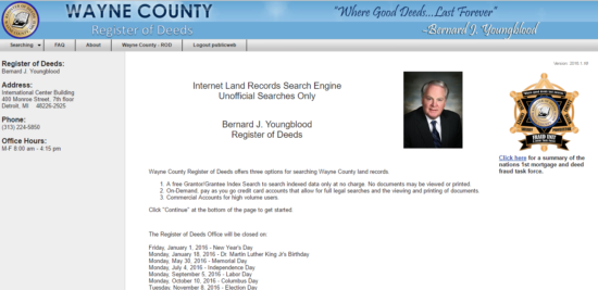 quit claim deed michigan wayne county Michigan Deed Forms – Quit Claim, Warranty, and Special Warranty ...