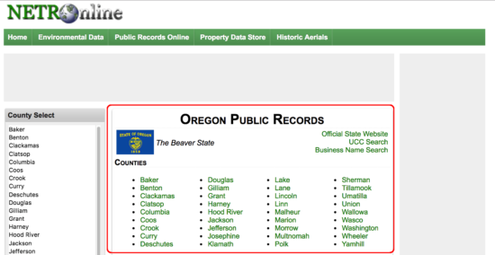 Oregon Deed Forms Quit Claim Warranty And Special Warranty
