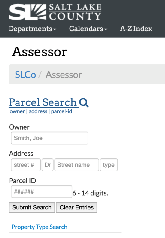 Property Owner Lookup By Name