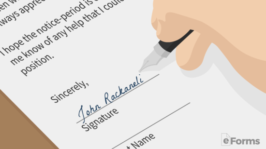 Free Resignation Letter Templates - Samples and Examples - PDF