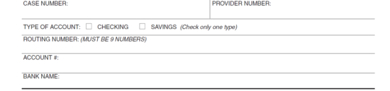 Step 10 Sign Your Name On The Blank Line Labeled Signature Of Payee Provider Then Enter Date You Are Signing In Box