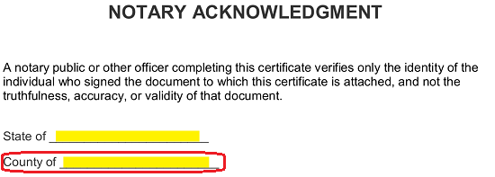 Notarized Letter Sample Format from eforms.com