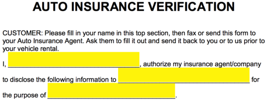 Third Party Verification Letters  AICPA Insurance Programs