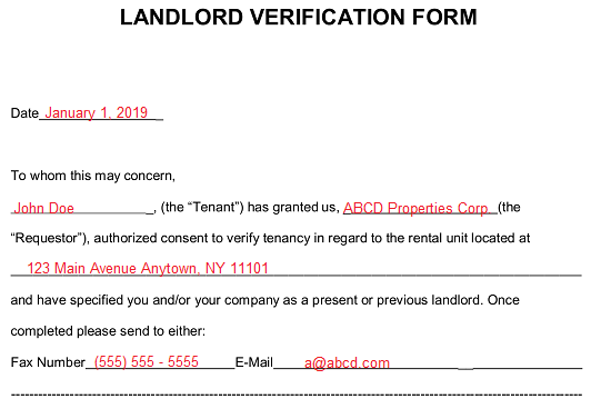 All Of The Live Forever   Police Verification Form For Rent
