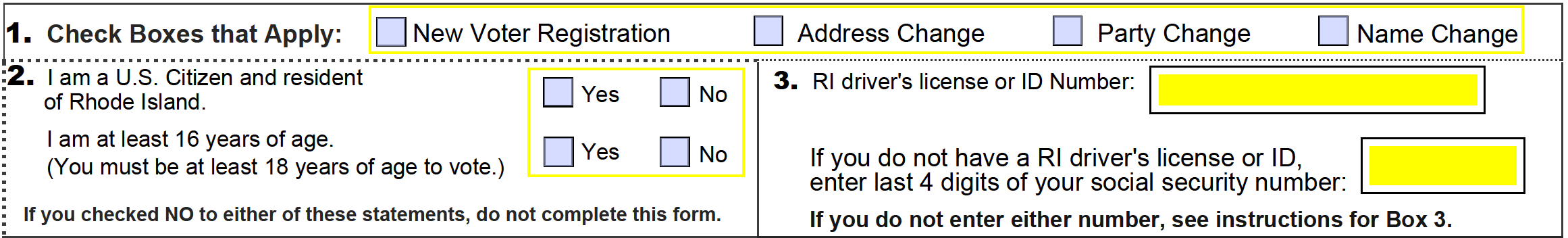 rhode island drivers license form