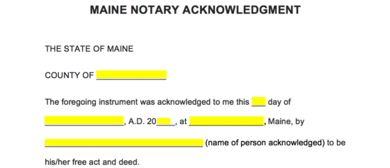 how to become a notary in maine