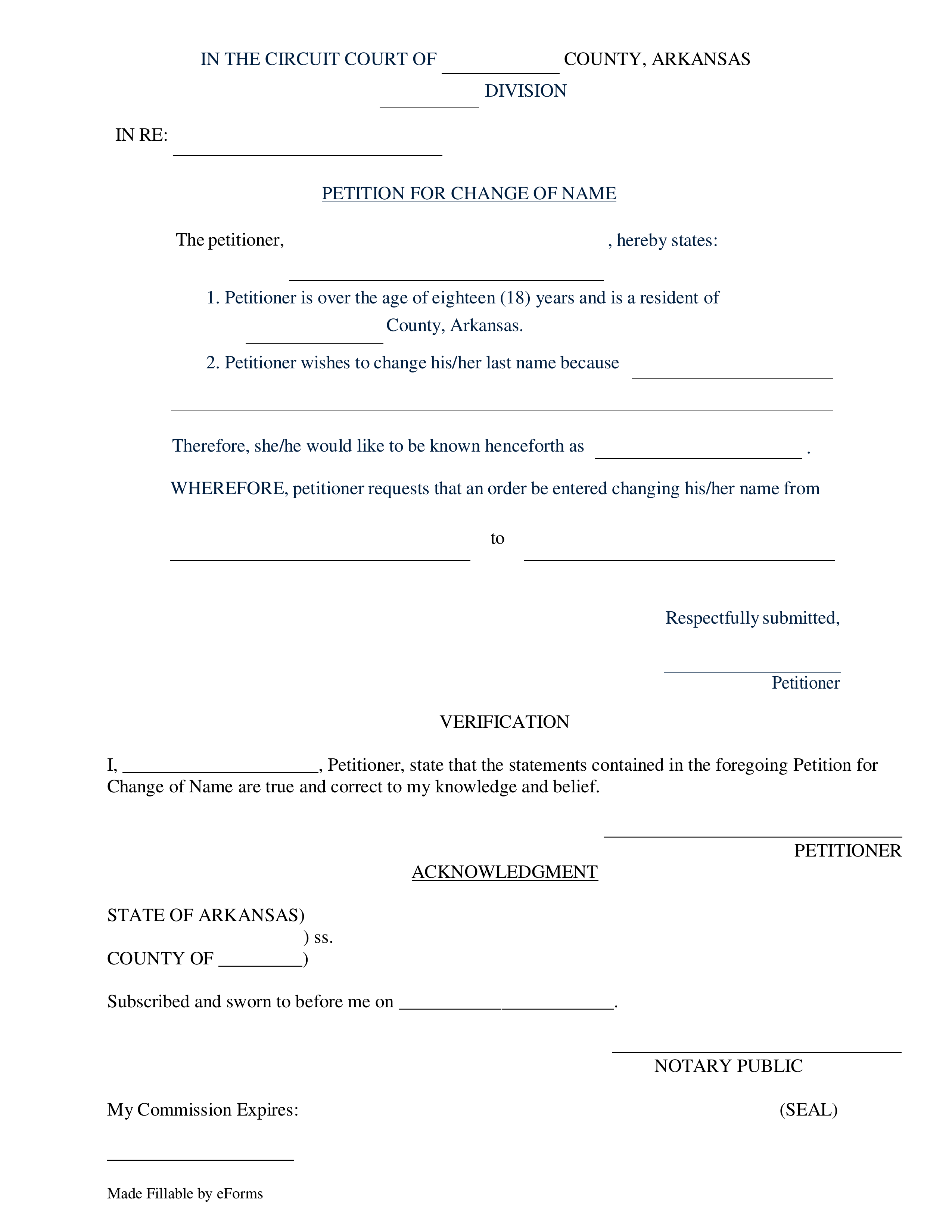 Sample Letter For Change Of Name After Marriage from eforms.com