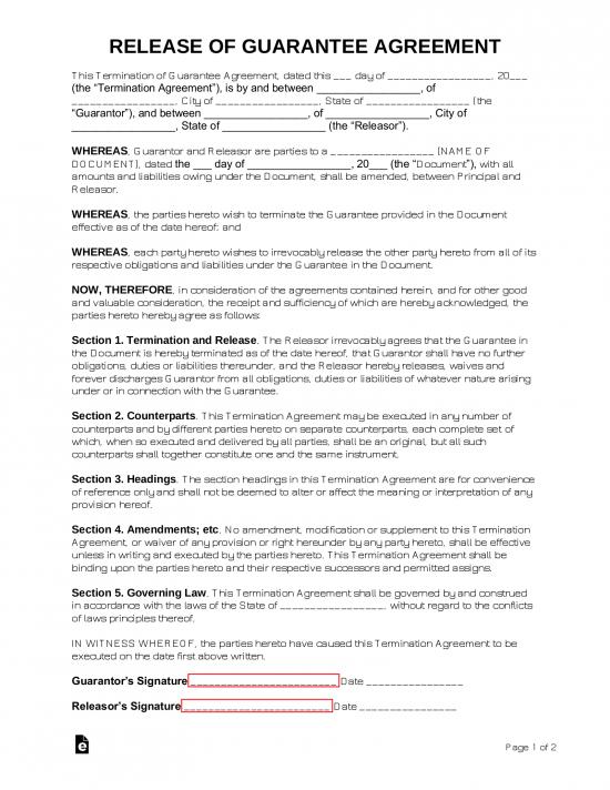 Credit Agreement Letter Sample from eforms.com