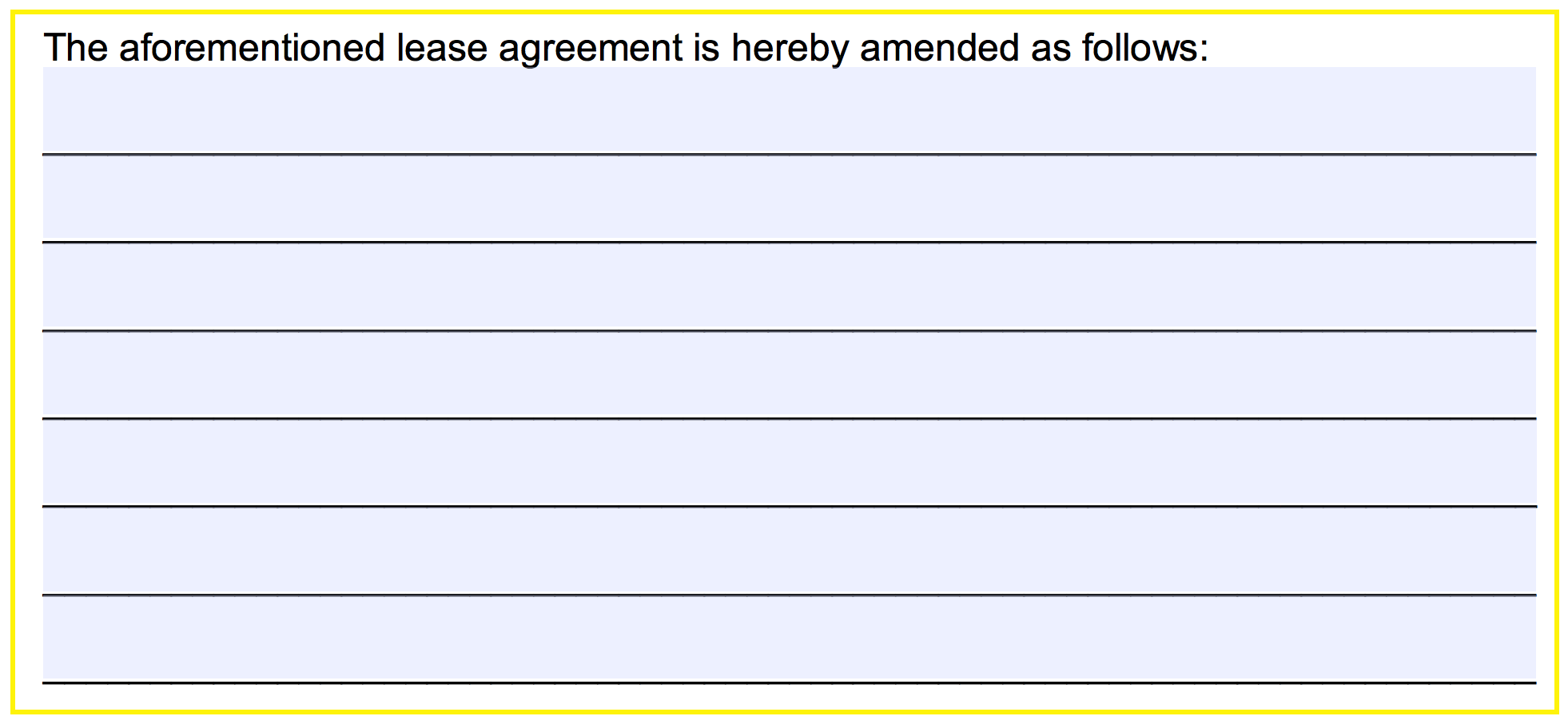 Step 4 The Landlord Lessor Must Provide Their Signature In First Field And Enter Date Of Signing Space Just Below