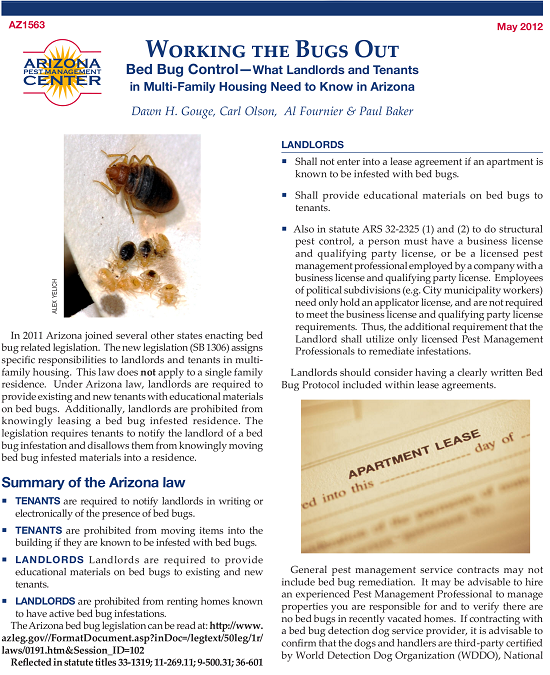 Free Bed Bug Lease Addendum Template Pdf Eforms Free Fillable