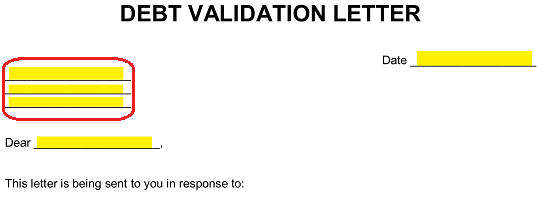 Validation Letter To Creditor from eforms.com