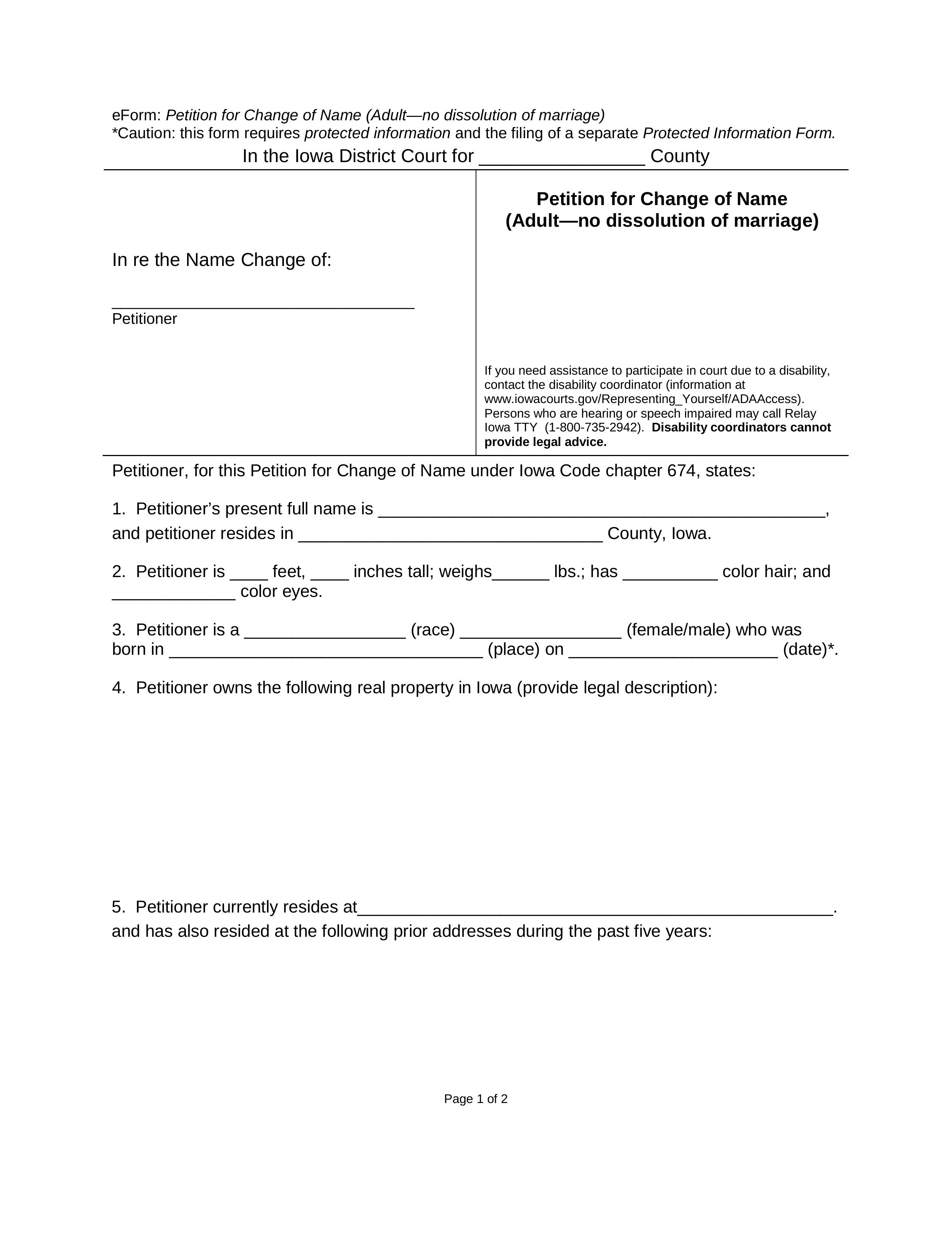 iowa divorce court records online