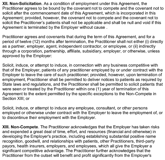 Free Dentist Employment Agreement | Dental Office (employer