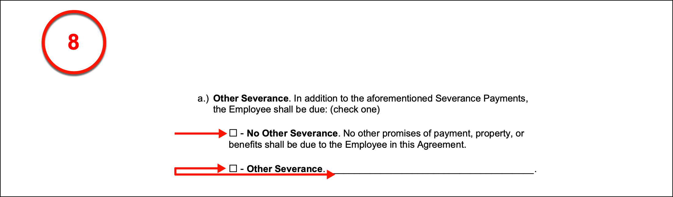 Free Employment Separation Severance Agreement Pdf