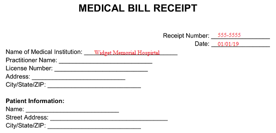 Sample Letter Request Discount Medical Bill from eforms.com