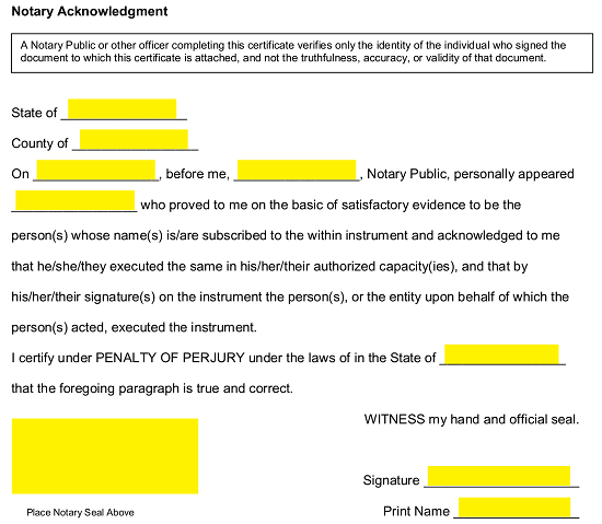 Proof Of Residency Letter For Immigration from eforms.com