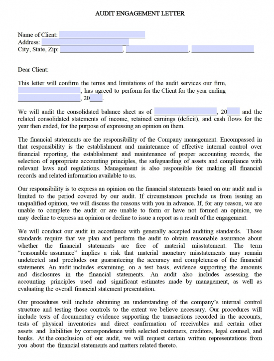 Cpa Consulting Engagement Letter from eforms.com